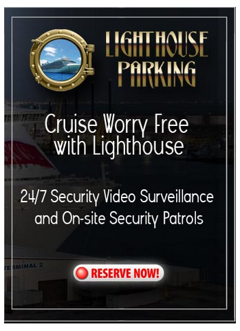 cruise parking, covered parking, Galveston parking, covered cruise parking